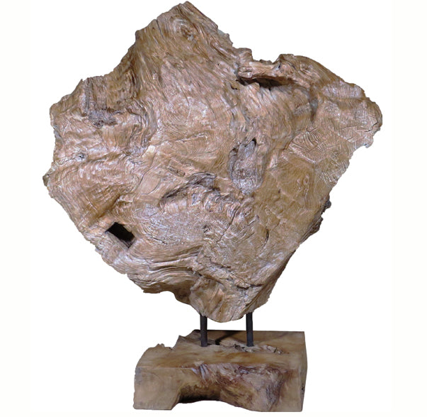 Z-Table Top Organic Scholar Teak Root Sculpture 2 - Dyag East