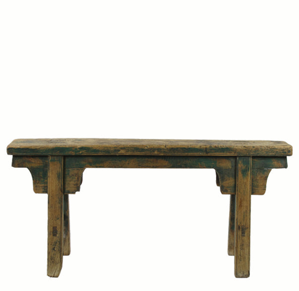 Antique Chinese Countryside Bench 1 - Dyag East