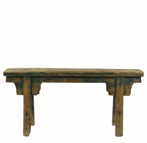 Z-Antique Chinese Countryside Bench 1 - Dyag East