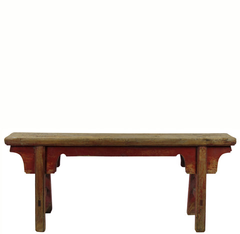 Antique Chinese Countryside Bench 10 - Dyag East