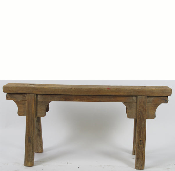 Z-Antique Chinese Countryside Bench 2 - Dyag East