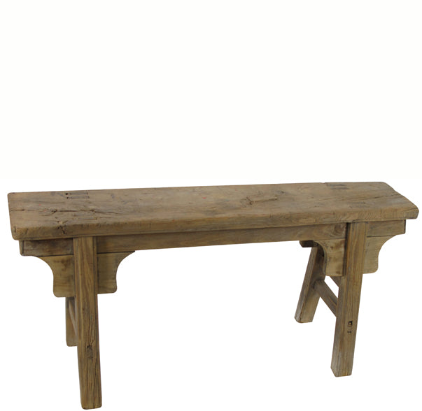Z-Antique Chinese Countryside Bench 3 - Dyag East