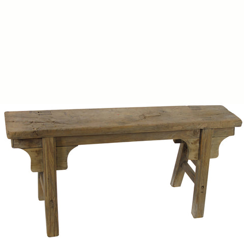 Antique Chinese Countryside Bench 3 - Dyag East