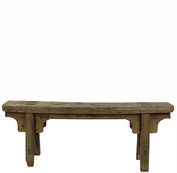 Antique Chinese Countryside Bench 4 - Dyag East