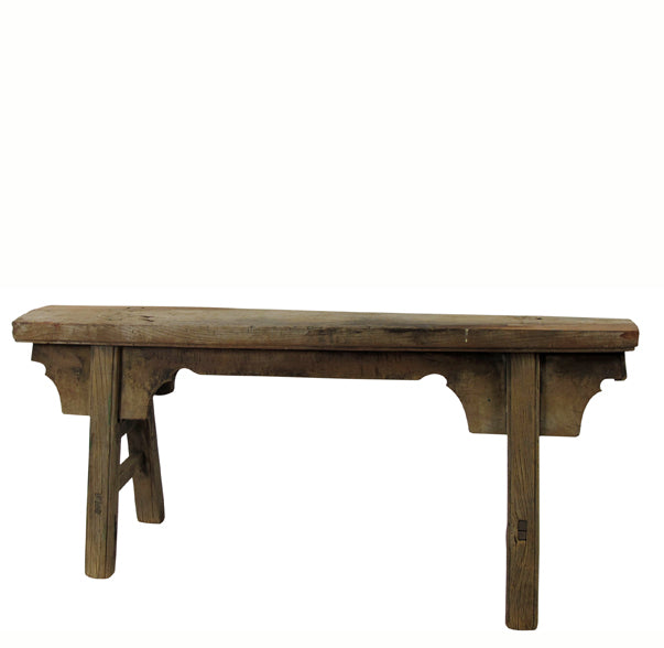 Antique Chinese Countryside Bench 5 - Dyag East