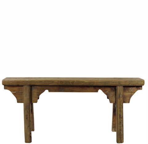 Z-Antique Chinese Countryside Bench 6 - Dyag East