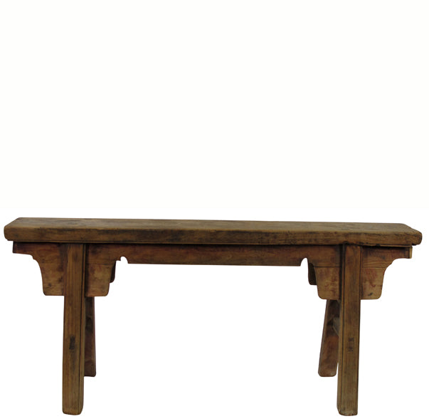 Z-Antique Chinese Countryside Bench 7 - Dyag East