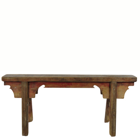 Antique Chinese Countryside Bench 8 - Dyag East