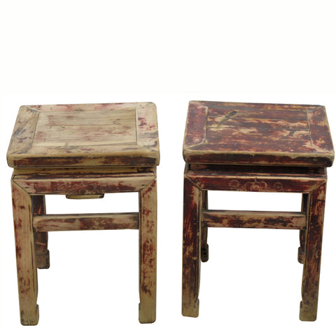 Squre Stool or Accent Table 5 - Dyag East