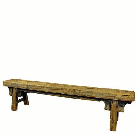 "Long Dongbei Bench (82.8""W x 11.3""D x 19""H) - Dyag East"