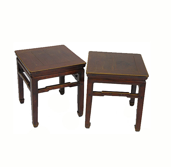 Pair Square Stool - Dyag East