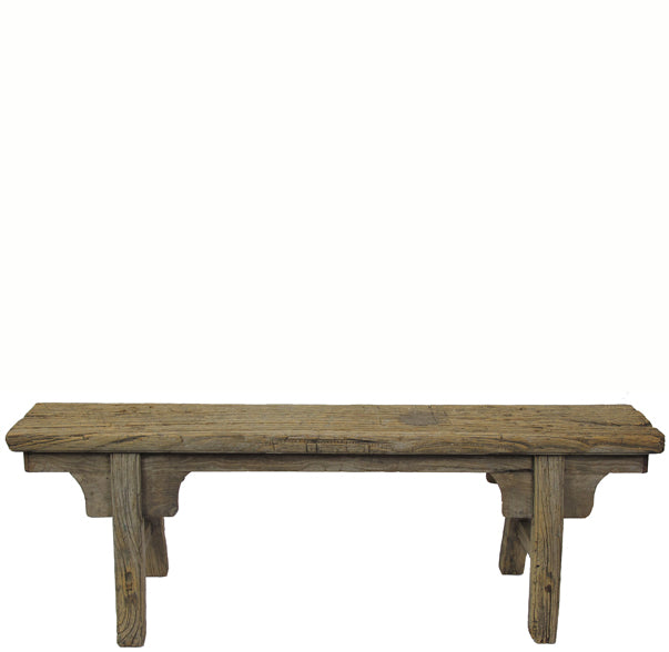 Antique Chinese Countryside Bench