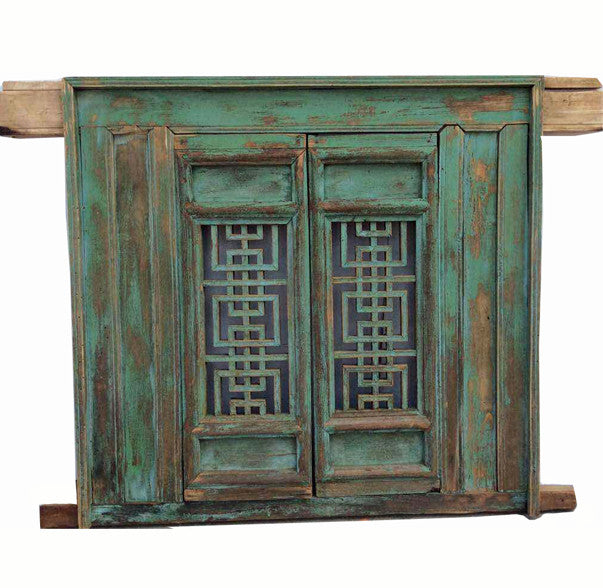 Antique Green Screen Window - Dyag East