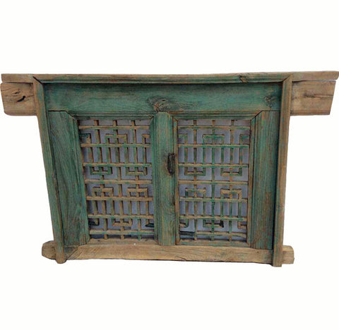 Small Antique Screen Window - Dyag East
