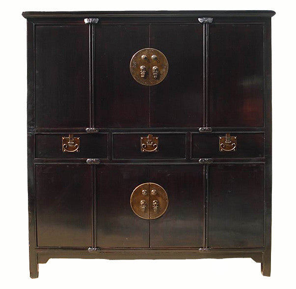 Z-Antique Black Cabinet - Dyag East