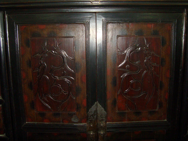 ... Cabinet With Carved Panel Doors   Dyag East