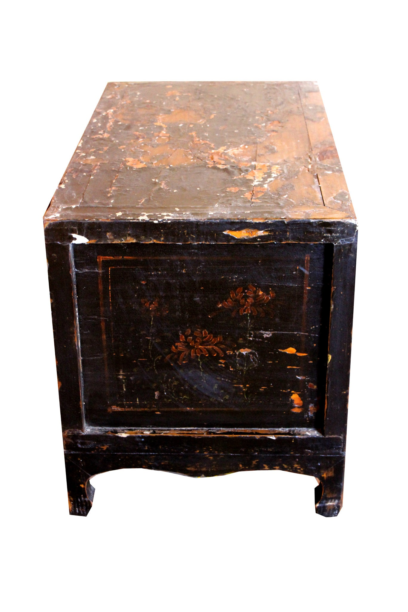Small Antique Black Lacquer Cabinet – Dyag East