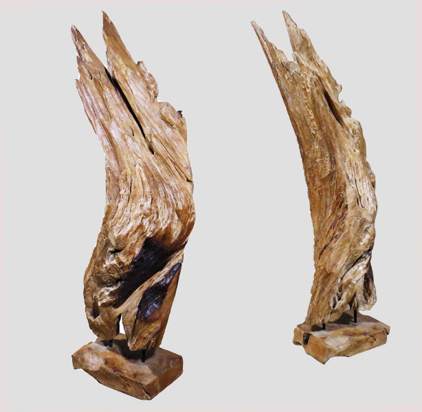 Table Top Organic Teak Root Sculpture 4 - Dyag East