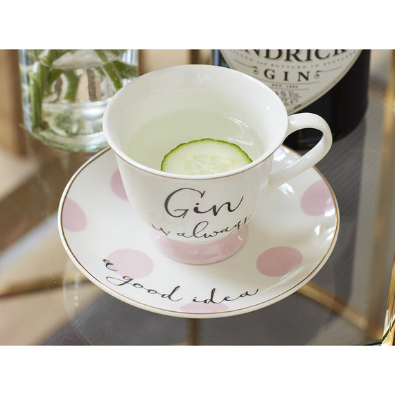 Ava and I Gin And Tonic Tea Cup