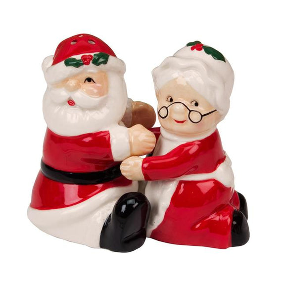 Mr & Mrs Claus Salt and Pepper