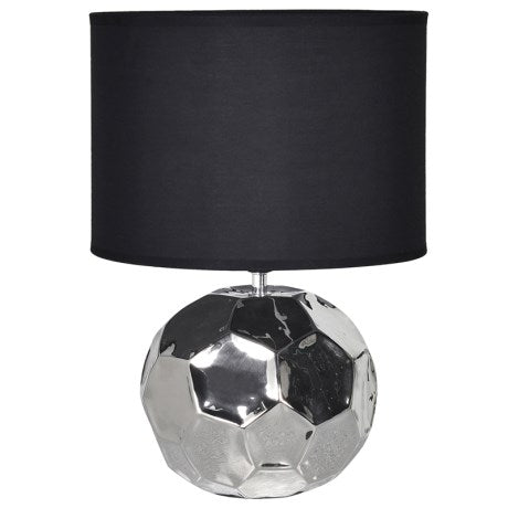 und Hexagonal Ceramic Table Lamp with Shade