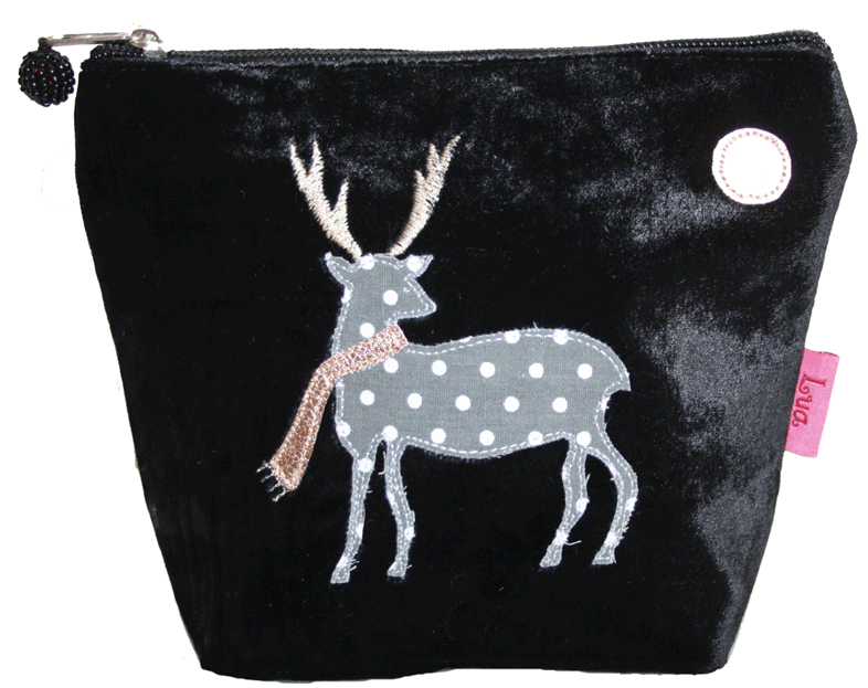 Lua Deer Cosmetic Purse Medium