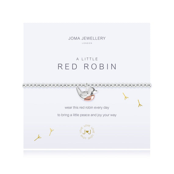 A Little Red Robin - Joma Jewellery
