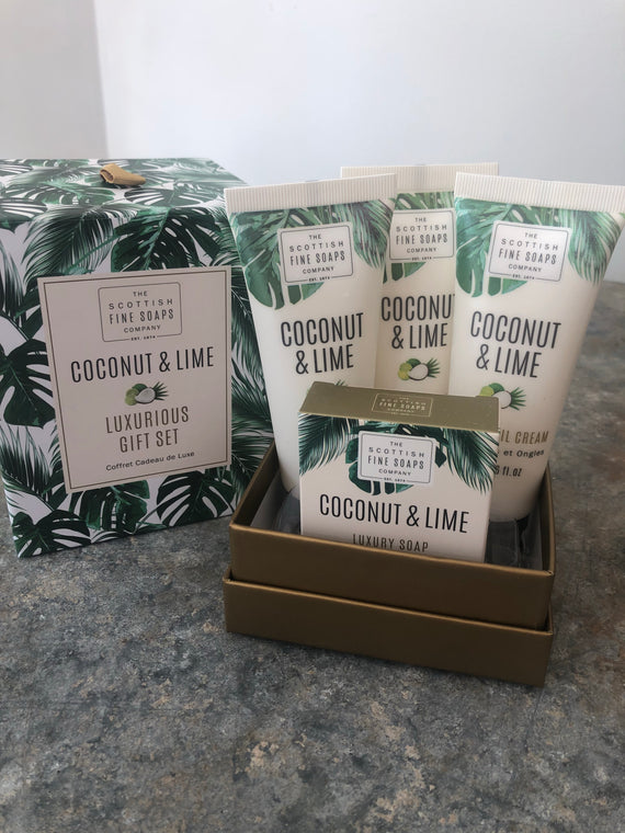 Coconut & Lime - Scottish Soap Gift Set