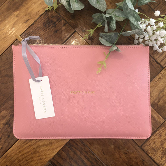 Pretty In Pink - Katie Loxton Pouch