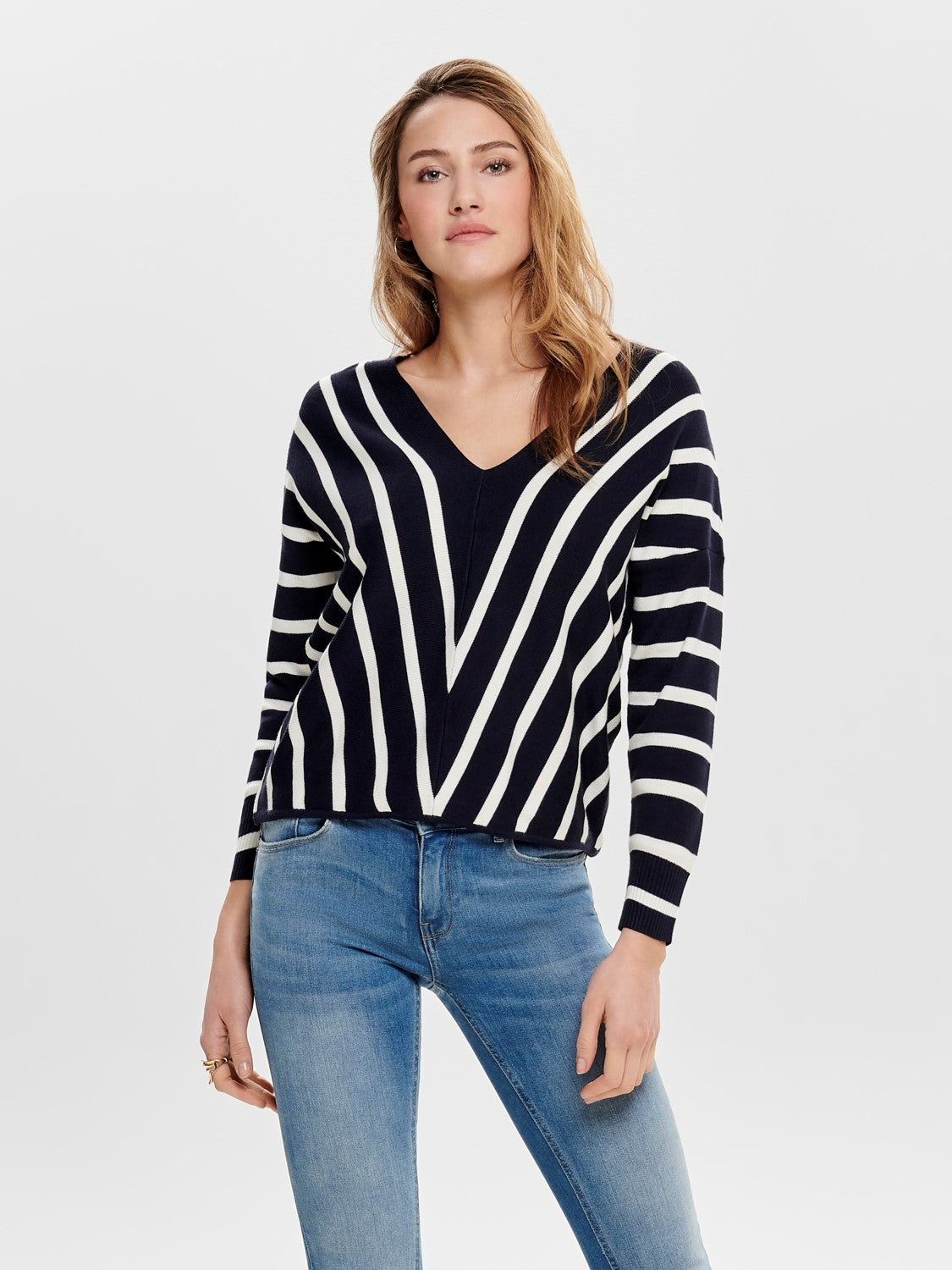 Aya Top Blue Stripe