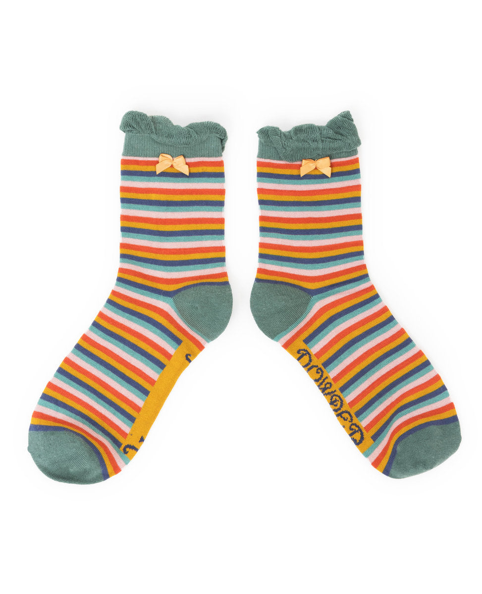 Stripe - Powder Socks