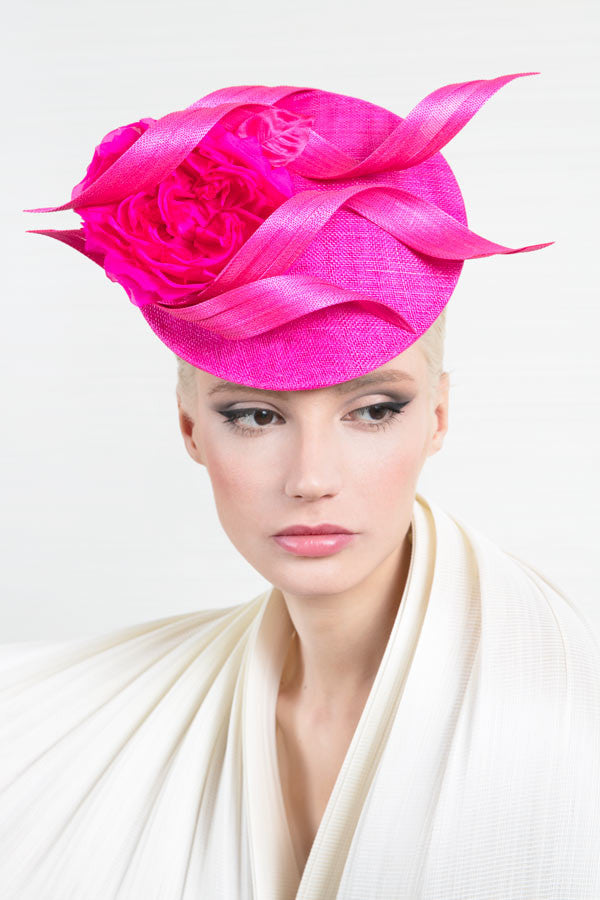 Philip Treacy Designer Hat in Pink
