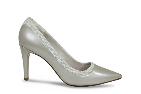Lisa Kay, silver, occasion shoe