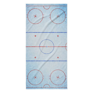 ICE RINK BEACH TOWEL
