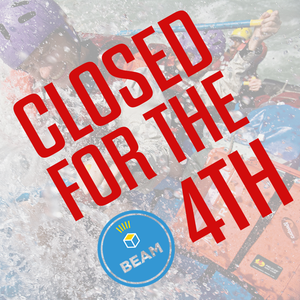 We are closed for the 4th of July
