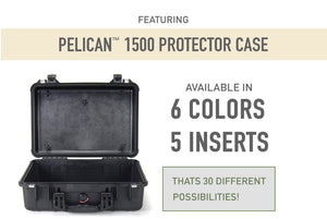 Featuring the Pelican 1500 Protector Case