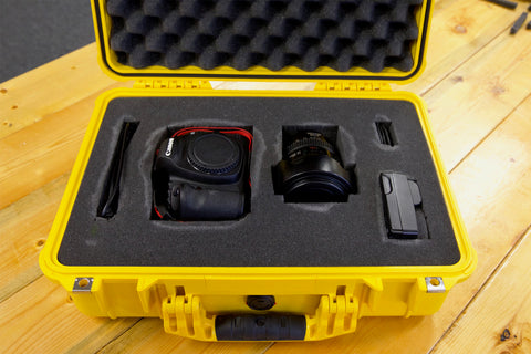 1500 Yellow Pelican Air Case - Pick N Pluck - Camera