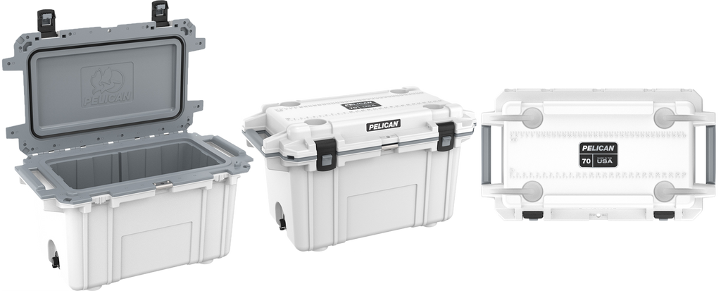 70QT Pelican Elite Cooler Images