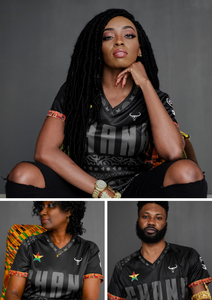 GHANA'S INDEPENDENCE DAY SANKOFA SOCCER JERSEY RELEASE