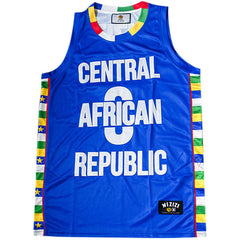 Central African Republic Basketball Jersey