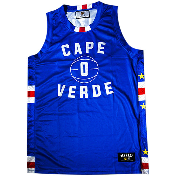 Cape Verde Basketball Jersey - MiziziShop