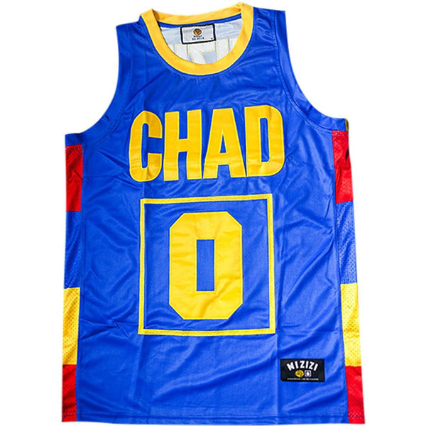 Chad Basketball Jersey - MiziziShop