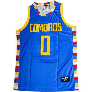 Comoros Basketball Jersey - MiziziShop