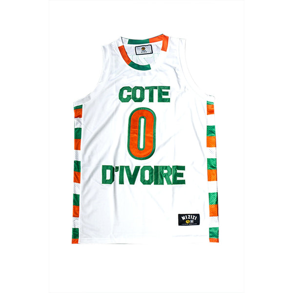 Ivory Coast Basketball Jersey - MiziziShop