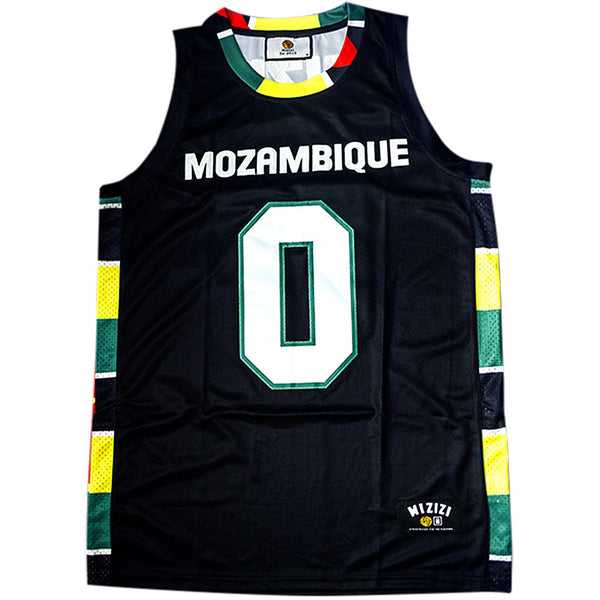 Mozambique Basketball Jersey - MiziziShop