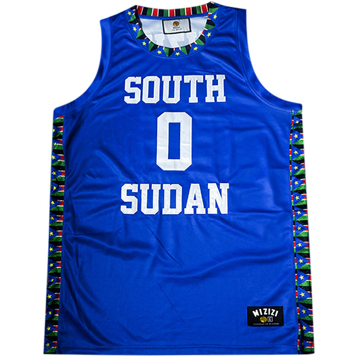 South Sudan Basketball Jersey - MiziziShop