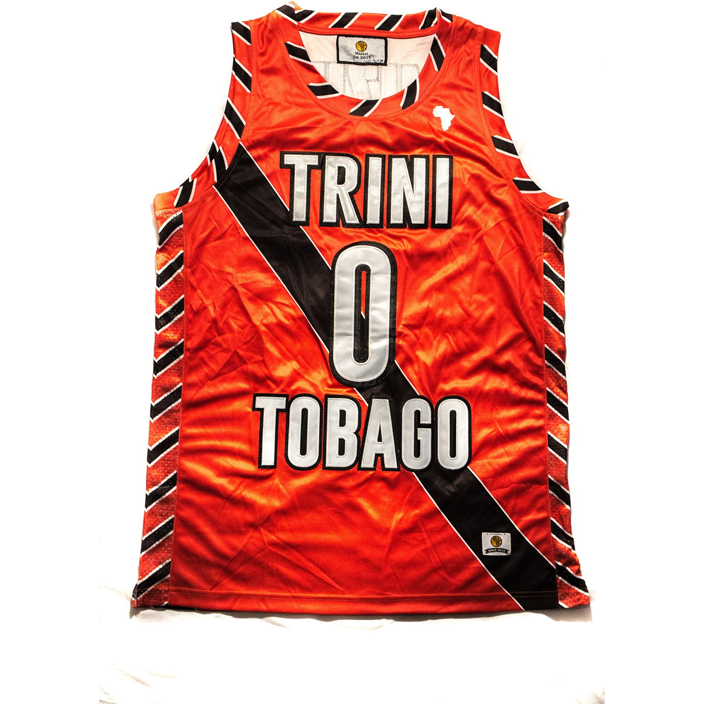 Trinidad and Tobago Basketball Jersey - MiziziShop