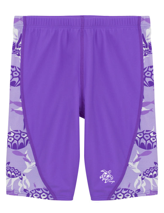UV50+ Jammers for Girl-Amethyst Purple