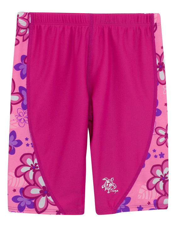 UV50+ Jammers for Girl-Blossom Pink