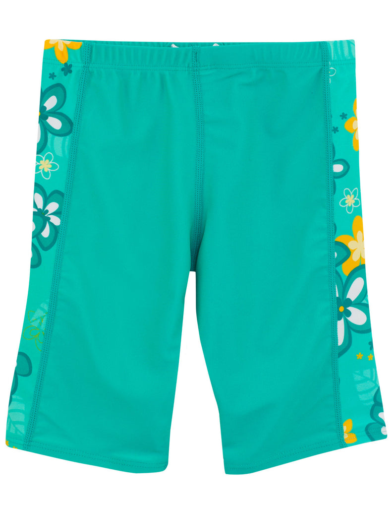 UV50+ Jammers for Girl-Seafoam